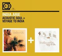 Cover India.Arie - 2 For 1: Acoustic Soul + Voyage To India