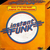 Cover Instant Funk - Give It To You Baby