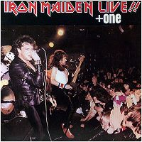 Cover Iron Maiden - Live!! +One