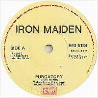 Cover Iron Maiden - Purgatory