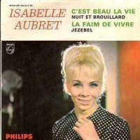 Cover Isabelle Aubret - C'est beau la vie