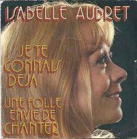 Cover Isabelle Aubret - Je te connais déjà