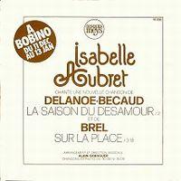Cover Isabelle Aubret - La saison du désamour