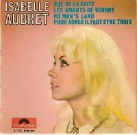 Cover Isabelle Aubret - Rue de la gaité