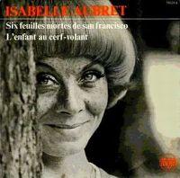 Cover Isabelle Aubret - Six feuilles mortes de San Francisco