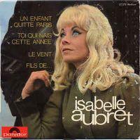 Cover Isabelle Aubret - Un enfant quitte Paris