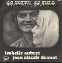 Cover Isabelle Aubret & Jean-Claude Drouot - Olivier Olivia