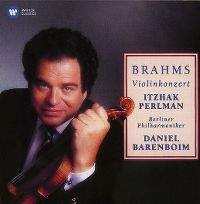 Cover Itzhak Perlman / Berliner Philharmoniker / Daniel Barenboim - Brahms: Violinkonzert