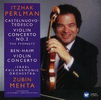 Cover Itzhak Perlman / Israel Philharmonic Orchestra / Zubin Mehta - Castelnuovo-Tedesco - Ben-Haim