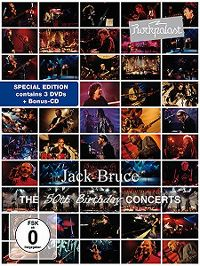 Cover Jack Bruce - The 50th Birthday Concerts
