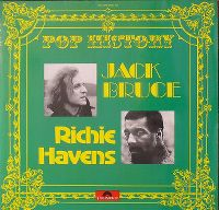 Cover Jack Bruce / Richie Havens - Pop History