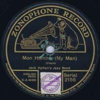 Cover Jack Hylton's Jazz Band - Mon homme (My Man)