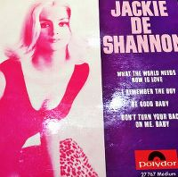 Cover Jackie DeShannon - What The World Needs Now Is Love