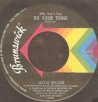Cover Jackie Wilson - (Why Don't You) Do Your Thing