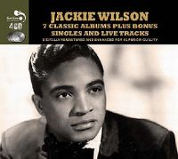 Cover Jackie Wilson - 7 Classic Albums Plus Bonus Singles And Live Tracks