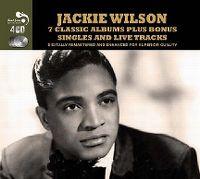Cover Jackie Wilson - 7 Classic Albums Plus Bonus Singles And Live Tracks