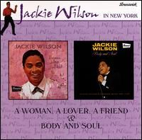 Cover Jackie Wilson - A Woman, A Lover, A Friend & Body And Soul