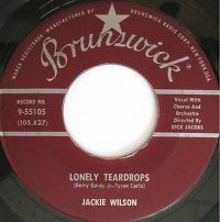 Cover Jackie Wilson - Lonely Teardrops