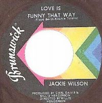 Cover Jackie Wilson - Love Is Funny That Way