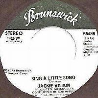 Cover Jackie Wilson - Sing A Little Song