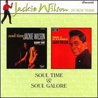 Cover Jackie Wilson - Soul Time & Soul Galore