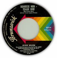 Cover Jackie Wilson - Squeeze Her - Tease Her (But Love Her)