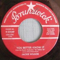 Cover Jackie Wilson - You Better Know It