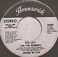 Cover Jackie Wilson - You Left The Fire Burning