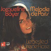 Cover Jacqueline Boyer - Melodie de Paris