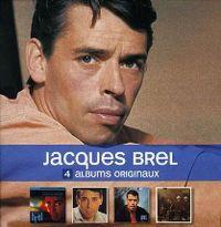 Cover Jacques Brel - 4 albums originaux