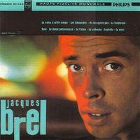 """Cover Jacques Brel - La valse à mille temps """"Jacques Brel 4"""""""