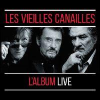 Cover Jacques Dutronc / Johnny Hallyday / Eddy Mitchell - Les vieilles canailles - L'album live
