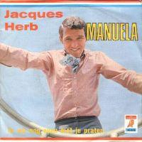 Cover Jacques Herb & De Riwi's - Manuela