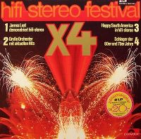 Cover James Last - Hifi-Stereo Festival