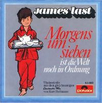 Cover James Last - Morgens um sieben ist die Welt noch in Ordnung