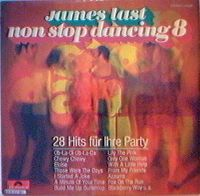Cover James Last - Non Stop Dancing 8