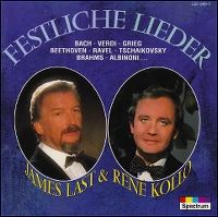 Cover James Last & René Kollo - Festliche Lieder