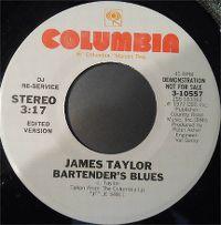 Cover James Taylor - Bartender's Blues