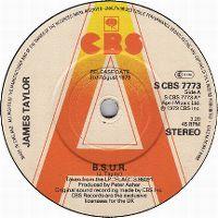 Cover James Taylor - BSUR