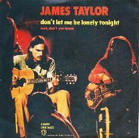 Cover James Taylor - Don't Let Me Be Lonely Tonight