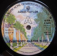 Cover James Taylor - Everybody Has The Blues