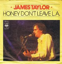 Cover James Taylor - Honey Don't Leave L.A.