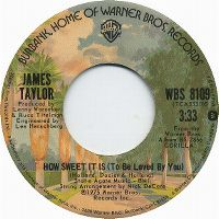 Cover James Taylor - How Sweet It Is (To Be Loved By You)