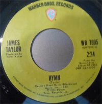 Cover James Taylor - Hymn