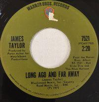 Cover James Taylor - Long Ago And Far Away