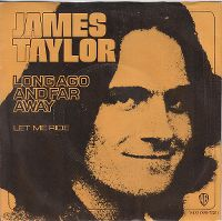 Cover James Taylor - Long Ago And Far Away