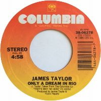 Cover James Taylor - Only A Dream In Rio