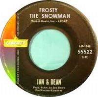 Cover Jan & Dean - Frosty The Snow Man