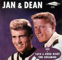 Cover Jan & Dean - Gee