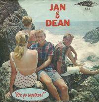 Cover Jan & Dean - We Go Together